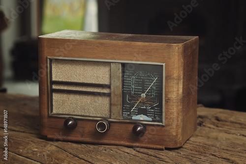 Poster  radio vintage année 1940