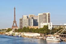 View On Paris City, France. Ei...