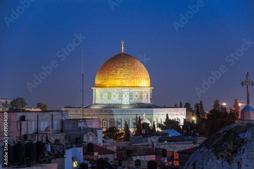 Fotografia  The Dome of the Rock, Jerusalem, Israel