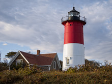 Nauset Light Lighthouse A Cape Cod Landmark Eastham Massachusetts