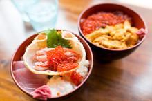 Japanese Seafood Rice Bowl