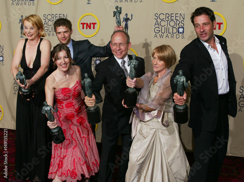 Cast Of Gosford Park Win Motion Picture Cast Award At Screen