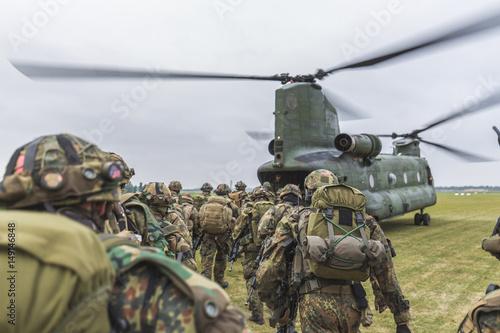 Photo Bundeswehr Fallschirmjäger
