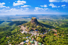 Mount Popa Aerial View, Bagan,...