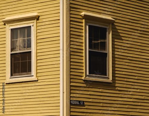Obraz na plátně Federal Street - Gloucester