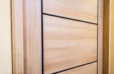 wooden door closeup texture