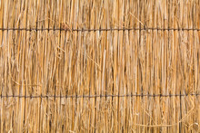 Detail Of Japanese Thatched Ro...