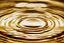 Liquid Gold Ripple Or Water Abstract Background Texture