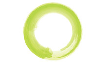Lime Green Circle Enso