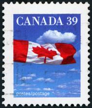 Postage Stamp - Canadian Flag