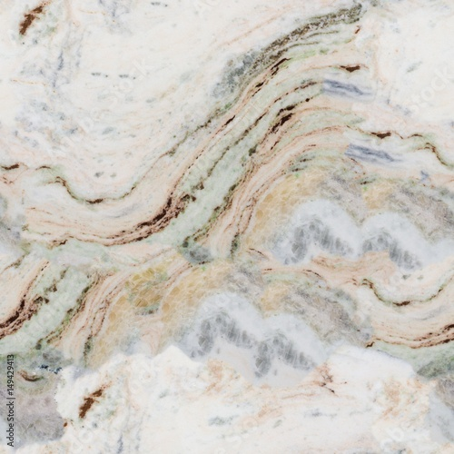 Canvas Prints Marble Detailed structure of marble in natural patterned for background and product design. Seamless square texture, tile ready.