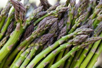 Panel Szklany Podświetlane Warzywa Asparagus