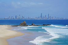 Gold Coast View From Currumbin...