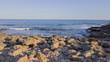 The Mediterranean coast a sunny day in Alcocebre