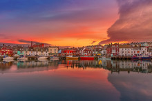 Fishing Harbour In Weymouth, D...