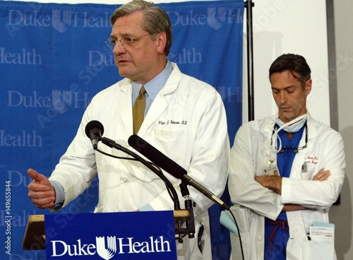 DUKE UNIVERSITY MEDICAL CENTER PHYSICIANS ADDRESS THE MEDIA