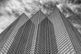 new york manhattan skyscrapers building detail