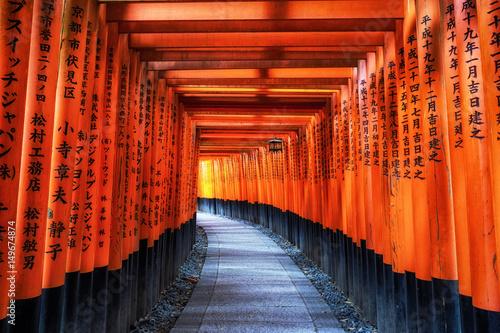 Poster Tokyo fushimi inari taisha gates