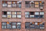 new york manhattan condos old windows and ac machines