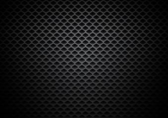 Panel Szklany Abstract black rectangles metallic background