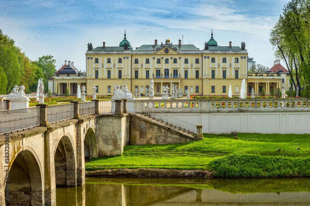 Fototapety, obrazy: Pałac Branickich, Białystok, Polska