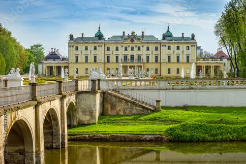 Obraz Pałac Branickich, Białystok, Polska - fototapety do salonu