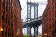 Dumbo view of the Manhattan Bridge
