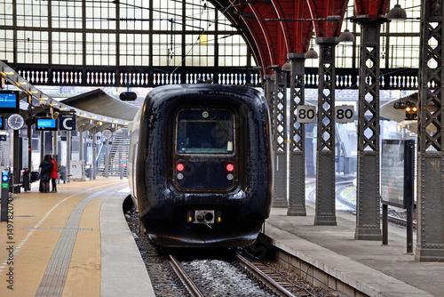 Photo  Passenger train.