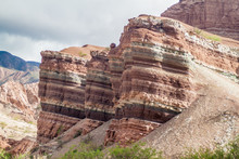 Colorful Layered Rock Formatio...