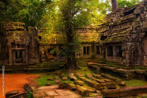 Foto  Ta Prohm temple