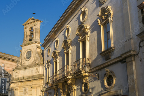 Fotografie, Obraz  Galatina historical town center - Salento - Italy