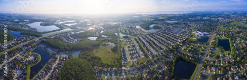 Kissimmee Florida aerial view