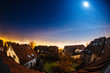 Rooftops at night, Germany