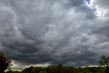 Sky With Thunderclouds, Rain Clouds