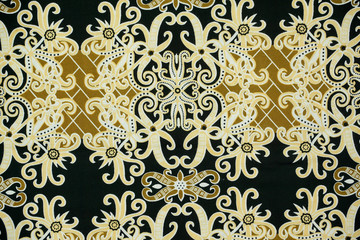 Malaysia and Indonesia Batik Patterns