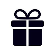 Gift Box  Icon. Present - A Pe...
