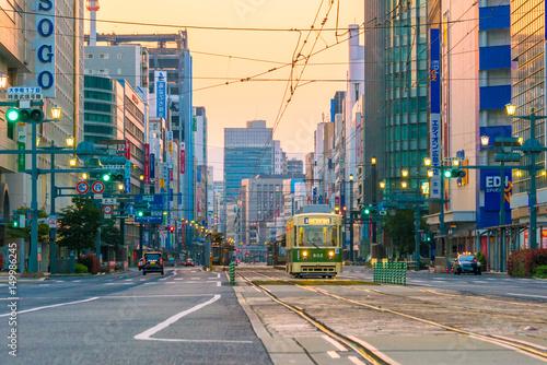 Fototapeta premium Centrum miasta Hiroszima