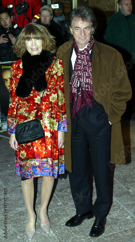 BRITISH DESIGNER SMITH AND HIS WIFE ARRIVE AT UK PREMIERE OF