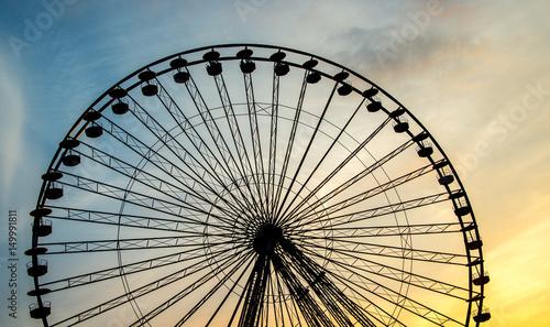Foto op Canvas Texas Riesenrad