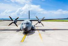 Avion De Transport Militaire Français Aux Seychelles