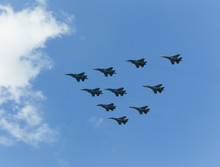 Russian Military Aircraft In The Sky