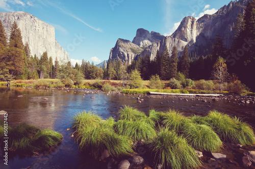 Poster Parc Naturel Yosemite