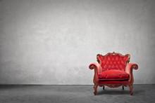 Antique Luxury Armchair