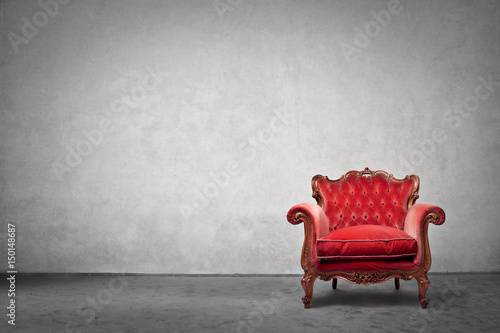 Photo Antique luxury armchair