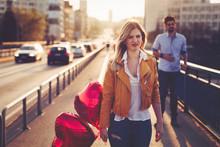 Sad Couple Breakup Relationship After Argument