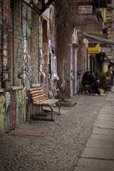 Fototapeta na wymiar Strassenszene in Berlin