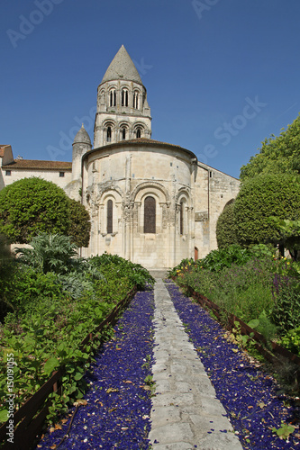 Canvas Prints Monument Abbaye aux Dames de Saintes