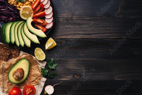 Fotografie, Obraz  Healthy vegan food concept
