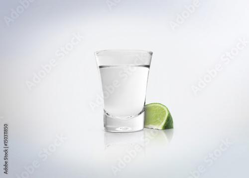 Cuadros en Lienzo Silver shot of tequila