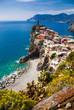 picturesque village of Vernazza, Cinque Terre, Italy